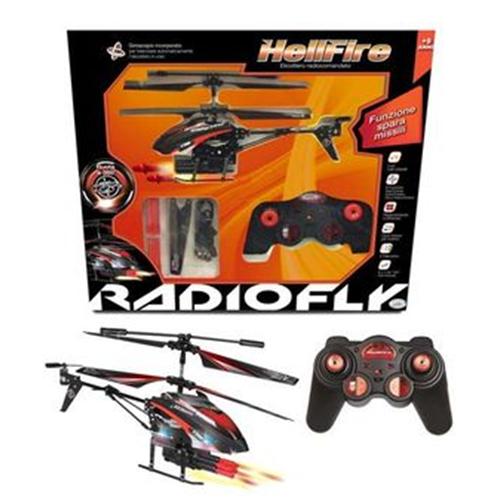 Elicottero Radiofly : Radiofly elicottero hellfire radiocomando